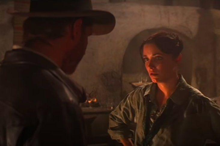 Drama de Marion en Indiana Jones